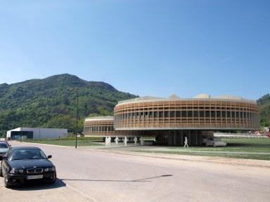 Edificio de oficinas del Polígono de Argame