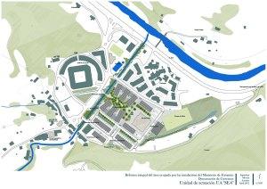 Proyecto de urbanización Morcín. Plano general