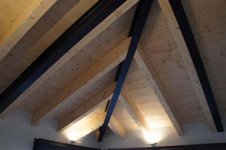 Estructura mixta madera/metal